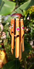 Bamboo Wind Chimes - Hand Painted