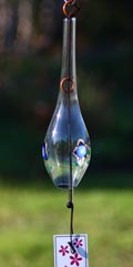 Glass Wind Chimes 'Edo Furin' Bellflower