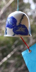Ceramic Wind Bell - Morning Glory
