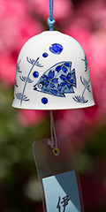 Ceramic Wind Bell - Fish (Blue)