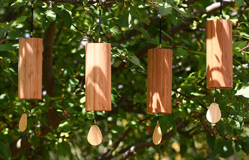 Koshi Wind Chimes - Set of Four