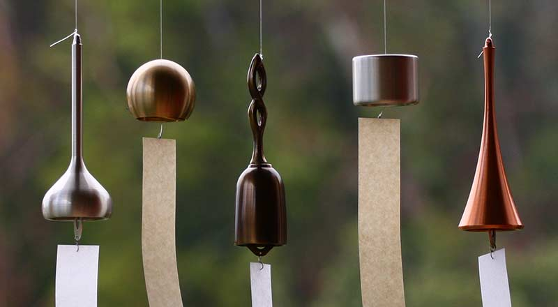 Brass Wind Bells