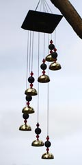 Woodstock wind chimes - Bells of Morocco
