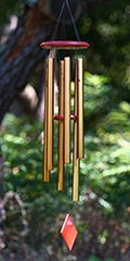 Woodstock wind chimes - Chimes of Earth