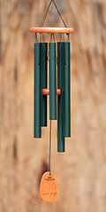 Woodstock wind chimes - Chimes of Mozart