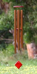 Woodstock wind chimes - Chimes of Neptune