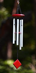 Woodstock wind chimes - Chimes of Polaris