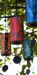 Zaphir wind chimes - Set of All Five
